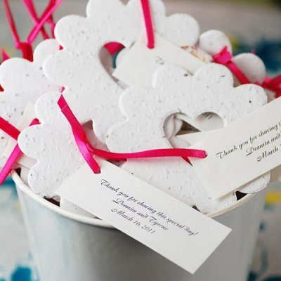 Wedding Favours / Favors - Plantable Seed Favours