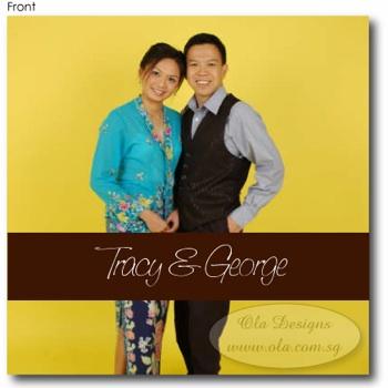 Tracy Photo Invitation (Front)
